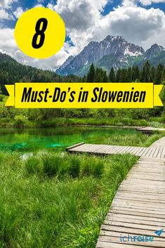8 must-do& for your holiday in Slovenia- 8 Must-Do's für deinen Urlaub in Slowenien More and more tourists are attracted to the beautiful country is now a real one and is especially important - Africa Destinations, Holiday Destinations, Travel Destinations, Home Poster, Koh Lanta Thailand, Places To Travel, Places To Go, Backpacking Europe, Slovenia Travel