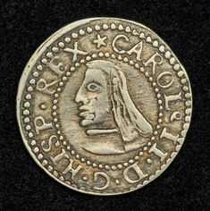 Coins of Spain Silver Real Coin of 1687, King Charles II