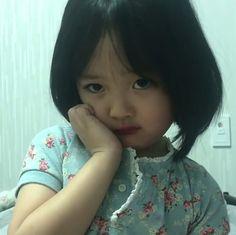 Cute Asian Babies, Cute Babies, Baby Kids, Kwon Yul, Ulzzang Kids, Baby Memes, Cute Baby Pictures, Cute Memes, Cute Baby Girl