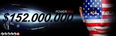 Sorteio #milionário da #loteria americana #Powerball hoje. Jogue online do Brasil no www.grandesloterias.com