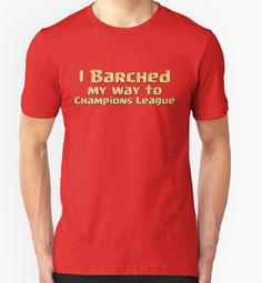 I Barched My Way to Champions League by chaosinc