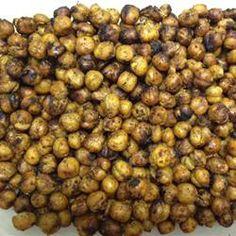 Indian-Spiced Roasted Chickpeas Allrecipes.com More