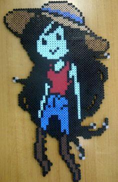 Hama/perler beads- Marceline