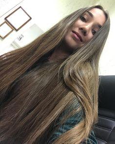 Beautiful Long Hair, Gorgeous Hair, Long Hair Divas, Long Brunette, Glossy Hair, Rapunzel Hair, Super Long Hair, Long Layered Hair, Permed Hairstyles
