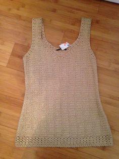 Elie Tahari Sleeveless Knit Sweater Size XS