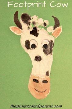 Footprint Grasshopper Craft   Kids Handprint & Footprint Crafts ...