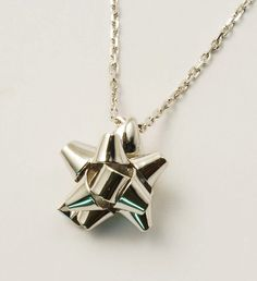 18 k starred node necklace by ilithe on Etsy, €780.00