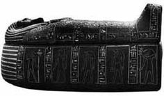Other: A sarcophagus is a stone casket used to bury important people such as pharaohs. In the Middle Kingdom, Coffin Texts were inscribed on them to help with an easy transition into the afterlife.