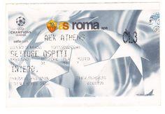 (2002) 13-11 CHAMPIONS LEAGUE  ΟΜΙΛΩΝ ΡΟΜΑ-ΑΕΚ 1-1 ΣΕΝΤΕΝΟ -STADIO OLIMPICO