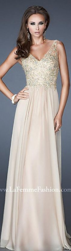 Formal long dress #nude by vera