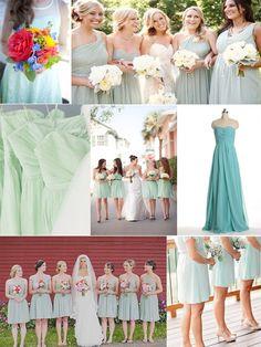2014-trend-mint-bridesmaid-dresses