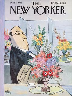 The New Yorker - Saturday, March 4, 1961 - Issue # 1881 - Vol. 37 - N° 3 - Cover by : William Steig