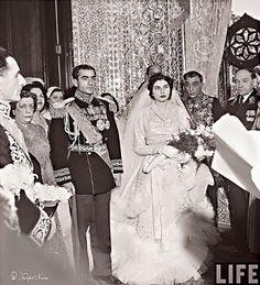 The Shah of Iran and his 2nd wife princess Sorraya!