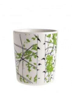 """Tea cup -- Marimekko --designed by Maija Louekari : """"Katso tarkemmin"""""""
