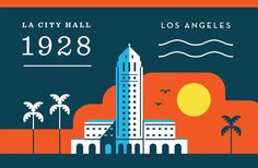 Dribbble - la-city-hall.png by Salih Kucukaga