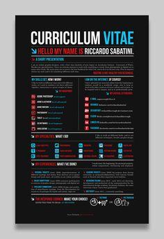 Graphic Curriculum Vitae