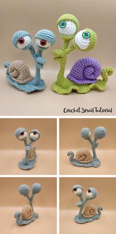 Crochet Snail, Crochet Cactus, Crochet Bear, Cute Crochet, Knitting Paterns, Crochet Patterns Amigurumi, Crochet Dolls, Knitting Doll Tutorial, Christmas Crochet Patterns