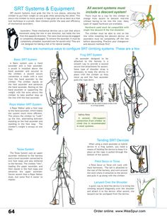Single Rope Technique (SRT) Systems & Equipment overview from WesSpur Tree Equipment Arborist Catalog