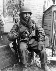 Soldado USA de la II Guerra Mundial.