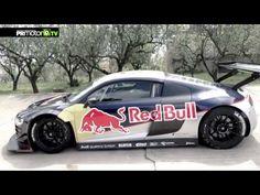 Una reliquia ( un circuito )  Una fiera ( Audi R8 )  Una leyenda ( Carlos Sainz )  Una promesa ( Miguel Molina )