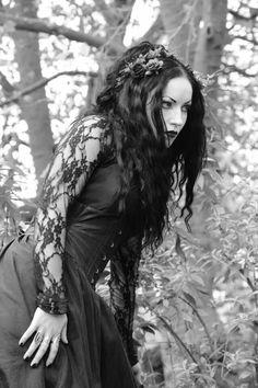 Ella Amethyst Gothic Model