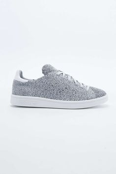 Adidas Stan Smith Knit Trainers in Grey - Urban Outfitters