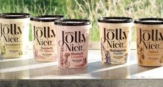 Harriet Wilson Jolly Nice ice cream brand. Designed by Taxi Studio, UK