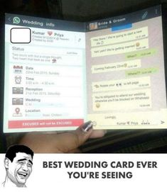 Wedding Card Funny Hilarious Ideas funny wedding is part of Cat quotes funny - Funny Girl Quotes, Super Funny Quotes, Crazy Funny Memes, Funny Facts, Funny Humor, Funny Stuff, Cat Quotes, True Facts, Funny Texts To Send
