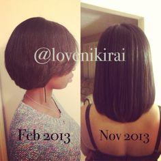 Hair growth. Grow long hair & retain length.