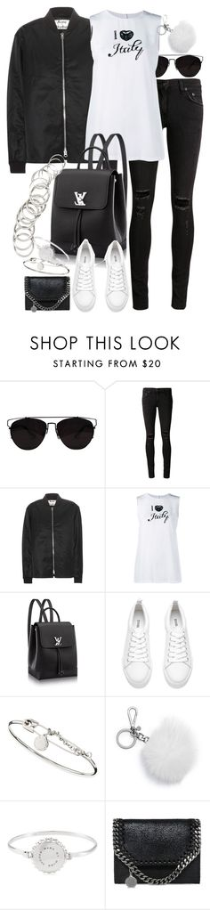 """""""Untitled #9067"""" by nikka-phillips ❤ liked on Polyvore featuring Retrò, rag & bone/JEAN, Acne Studios, Dolce&Gabbana, Marc by Marc Jacobs, Michael Kors, STELLA McCARTNEY and H&M"""