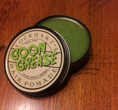 Lockhart's Goon Grease Heavy Hold Hair Pomade by Lockharts on Etsy, $12.50