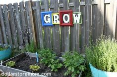 Easy DIY outdoor art...perhaps on our soon-to- be deck