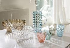 Acqua in tavola Mould Design, Plastic Tumblers, Mold Making, Tiffany, Safe Food, Kitchenware, Make It Simple, Glass Vase, Sweet Home
