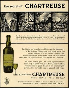The secret of Chartreuse
