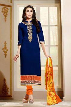 Bollywood Designer Anarkali Salwar Kameez Indian Pakistani Party Wear Dress Suit #SKPD #StraightStyle