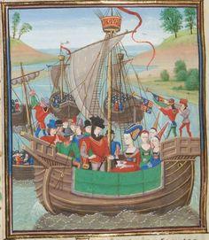 « Chroniques sire JEHAN FROISSART » Date d'édition :  1401-1500  Français 2643  Folio 7v