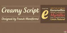 Creamy Script font download