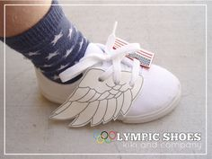 London Olympic Shoes by Kiki and Company