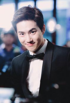 Suho is like the Beautiful boy next door❤❤❤❤ EXO♡