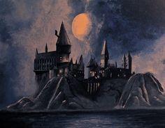 Hogwarts Castle by Maroin.deviantart.com on @deviantART