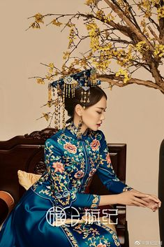 Asian Style, Chinese Style, Asian Clothes, Chinese Clothing, Movie Costumes, Qing Dynasty, Traditional Chinese, Aesthetic Fashion, Asian Fashion
