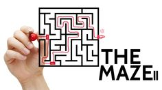 The Maze II prezi template. Can you find our way out?