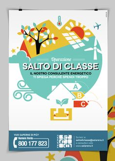 Salto di classe by Marina Cito, via Behance