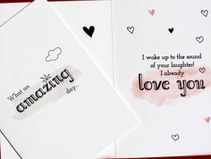 New Love #mummumcards #babyspeak #baby #letthebabyspeak #ILoveYouMom #frombaby #toMom