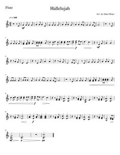 Canon In D By Johann Pachelbel Free Sheet Music For Flute