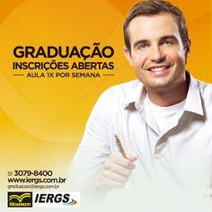 Graduação e Pós? Recomendo www.IERGS.com.br