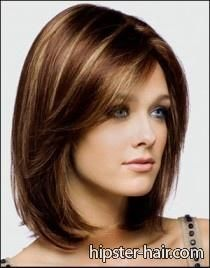 short, brown, straight hair at Hipster Hair : Hairstyle Photo Search