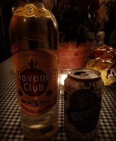 inicia la noche en primera con #cervezamontejo mete segunda con #habanaclub - suave noble honesto