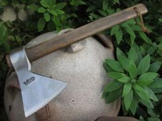 Forged Steel Hatchet, Vito of Portugal Hand Made Blacksmith Ax Axe