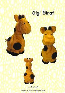 Gigi Giraf Amigurumi - Free Pattern - PDF